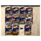 11 Assorted Hot Wheels Collectible Cars