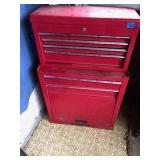 Red Metal 6 Drawer Toolbox & Storage Cabinet
