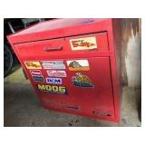Alltrade Red Metal Tool Cabinet