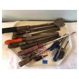 Assorted Screwdrivers & Chisels