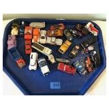 Assorted Matchbox & Hot Wheels Collectible Cars