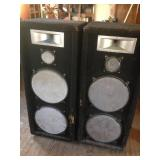 "Pair of Large Welton Speakers (49.5"" x 20"" x 18"")"