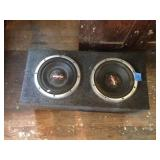 "Sony Xplod Speakers 10"" Speakers"