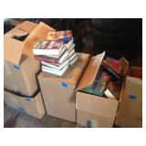 Large Lot Of Books (5 boxes)