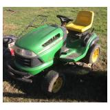 "John Deere 145 Automatic Riding Mower 48"" Deck"