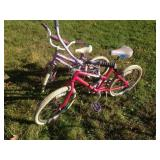 "2 Girls Huffy Bicycles (16"" & 20"")"