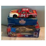 2 NASCAR Collectible Cars 1:24