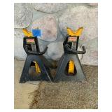 Two Craftsman 3.5 Ton Adjustable Stands