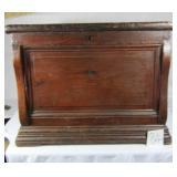 Handmade Antique Wooden Storage Trunk