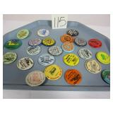 23 Badges - Antique Machinery, Steam & others
