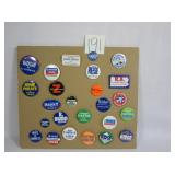 Assorted Political Advertising Pins