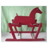Vintage Wooden Spring Horse