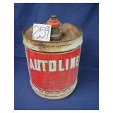 Autoline Oil Co. Can - 5 gallon