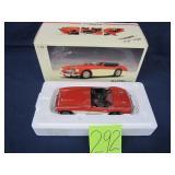 Autoart Millenium 1:18 Austin Healey Metal Model