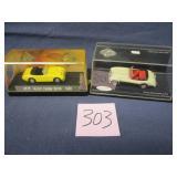 1958 Austin Healey Sprite & Austin Healey 3000