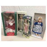 MIXED COLLECTIBLE DOLL LOT