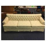 BEAUTIFUL MID CENTURY SOFA WITH FLORAL PATTERN