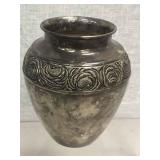 BEAUTIFUL, HEAVY SILVERPLATED VASE / URN