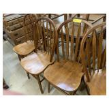 4 Kitchen Chairs, Arrow Back