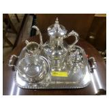 Silver Plated Tea Set, National Silver