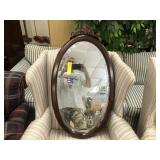 Cherry Oval Mirror by Bombay