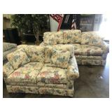 Pennsylvania House Floral Sofa and Love Seat
