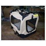 Collapsible Pet Carrier, Tan