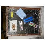"""Chalkboard with Accessories, Approx 22x18"""""""