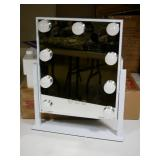 """Hollywood Makeup Mirror, Approx 14x11.5"""", Looks"""