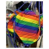 Rack of NWT Pride clothing 50+ pieces