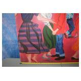 Marty Robbins Art Hand painted, signed John Hiner