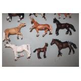 9 Schleich Horses