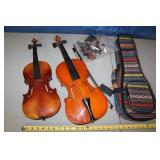 Violin Lot Josef Lorenz has cracks