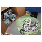 Box lot 40 Rolls Masking Tape, electrical, lock bo