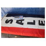 Sale Flag, Open Sign