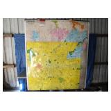 6 ft. Indianapolis Map