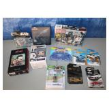 Star Wars, Hot Wheels, Assorted Toys mostly new in