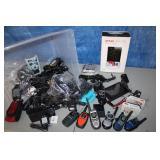 Untested Electronics Lot walkie talkies, etc.. as