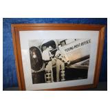 Flying Post Office Framed Picture