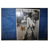 Bob Marley poster w/ Ziggy Autograph