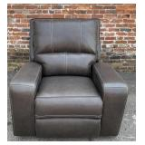 Potrero Power Leather Wall Hugger Recliner