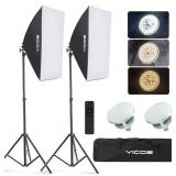 YICOE Softbox Lighting Kit