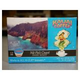 4 Boxes of Kauai Coffee K-Cups