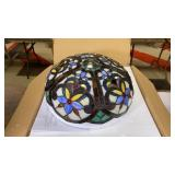 Docheer Stained Glass Ceiling Light