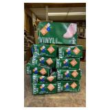 10 Boxes of Large Vinyl Gloves
