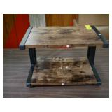 Wood and Metal Table Riser