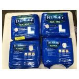 4 Packs of Fit Right Extra Underwear