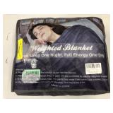 Zonli 20 LBS Dark Gray Weighted Blanket