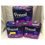 3 Packs of Prevail Women