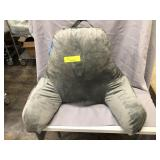 Springcoo Gray Microfiber Backrest Pillow